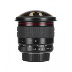 Meike MK 8mm f/3, 5 Micro 4/3, Olympus/Panasonic vyobraziť