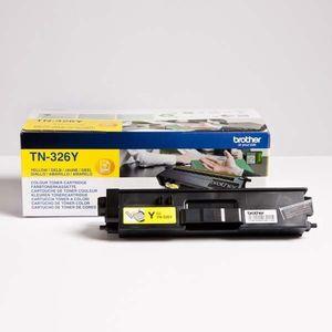 BROTHER TN-326 - originálny toner, žltý, 3500 strán vyobraziť