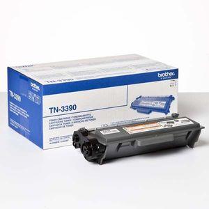Brother TN-3390 (TN3390) - originálny, black, 12000 strán vyobraziť