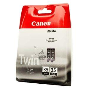 CANON PGI-35 BK - originálna cartridge, čierna, 2x191 2ks vyobraziť