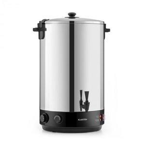Klarstein KonfiStar 50, zavárací hrniec, automat na teplé nápoje, 50 l, 110 °C, 120 min., ušľachtilá oceľ vyobraziť