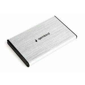 Gembird externý USB 3.0 case pro 2, 5'' SATA, leštený hliník, strieborný EE2-U3S-3-S vyobraziť