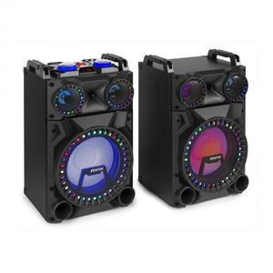 """Fenton VS12, sada aktívnych reproduktorov, 1200 W, 12"""" subwoofer, BT, USB port, SD Slot, LED vyobraziť"""