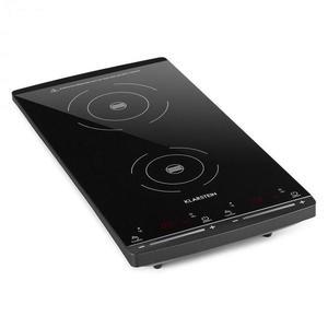 Klarstein VariCook Slim indukčná varná doska, 2 varné platne, 2900W, 60-240 °C, čierna farba vyobraziť