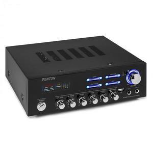 Fenton AV120BT, stereo HiFi zosilňovač, 120 W RMS, (2 x 60 W na 8 Ohm), BT/USB/AUX vyobraziť