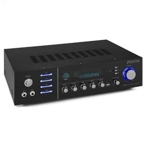 Fenton AV320BT, surround HiFi zosilňovač, 200 W RMS, (2 x 100 W na 8 Ohm), BT/USB/AUX vyobraziť