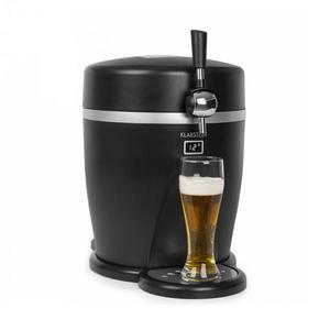 Klarstein Tap2Go, mobilné čapovacie zariadenie 2 v 1 s chladničkou na nápoje, 5 l/13 l, čierne vyobraziť