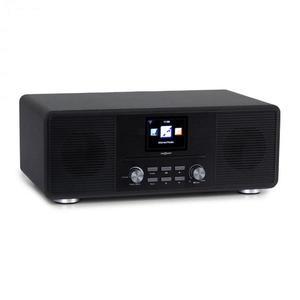 OneConcept Streamo CD, internetové rádio, 2 x 10 W, WLAN, DAB+, FM, CD prehrávač, BT, čierne vyobraziť