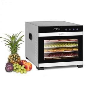 Klarstein Flavour Dry, sušička potravín, 35 – 75 °C, LCD dotykový displej, časovač, čierna vyobraziť