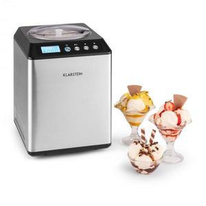 Klarstein Vanilly Sky Family, výrobník zmrzliny a mrazeného jogurtu, zmrzlinovač, 250W, 2, 5 l, strieborný vyobraziť