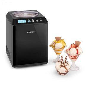 Klarstein Vanilly Sky Family, výrobník zmrzliny a mrazeného jogurtu, zmrzlinovač, 250W, 2, 5 l, čierny vyobraziť