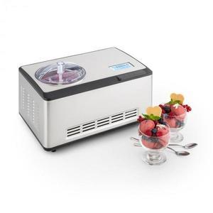 Klarstein Dolce Bacio, zariadenie na výrobu zmrzliny , kompresor, 2 l, LCD displej, dotykový panel, ušľachtilá oceľ vyobraziť