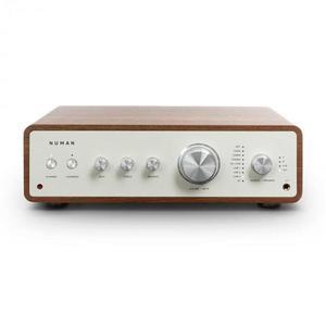 Numan Drive Digital, stereo zosilňovač, 2x170W/4x85W RMS, AUX/Phono/koaxial, orech vyobraziť