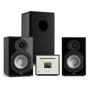 Numan Unison Reference 802 Edition, stereo systém, zosilňovač, UniSub, reproduktory, čierna vyobraziť