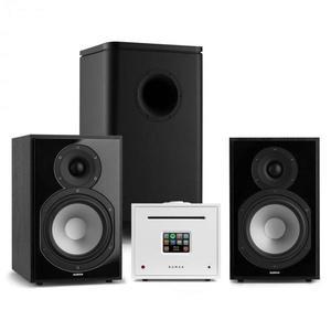 Numan Unison Reference 802 Edition, stereo systém, zosilňovač, reproduktory, čierna/biela vyobraziť