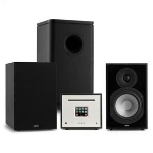 Numan Unison Reference 802 Edition, stereo systém, zosilňovač, reproduktory, čierna vyobraziť