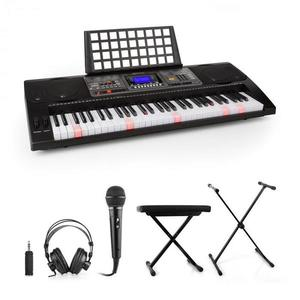 SCHUBERT Etude 450, nácvičný elektronický klavír, slúchadlá, mikrofón, stojan, stolička, adaptér vyobraziť