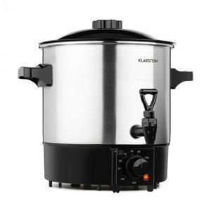 Klarstein Biggie Eco zavárací hrniec & dávkovač nápojov, 1000 W, 30 – 100 °C, výčapný kohút, 9 l vyobraziť