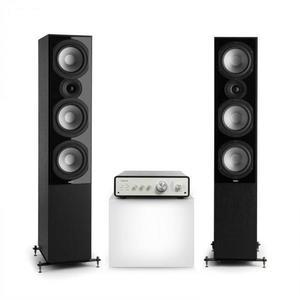 Numan Drive 801, stereo sada, stereo zosilňovač, vežový reproduktor, čierna/čierna vyobraziť
