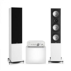 Numan Drive 801, stereo sada, stereo zosilňovač, vežový reproduktor, biela/čierna vyobraziť