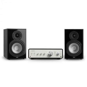 Numan Drive 802, stereo sada, stereo zosilňovač, regálový reproduktor, čierna vyobraziť