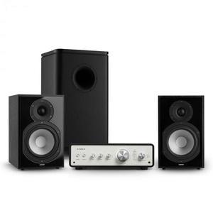 Numan Drive 802, stereo sada, zosilňovač, regálový reproduktor, subwoofer, čierna vyobraziť