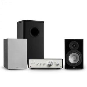 Numan Drive 802, stereo sada, zosilňovač, reproduktor, subwoofer, kryt, čierna/sivá vyobraziť