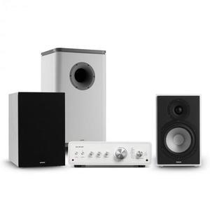 Numan Drive 802, stereo sada, zosilňovač, reproduktor, subwoofer, kryt, biela/sivá vyobraziť