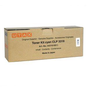 UTAX 4431610011 - originálny toner, azúrový, 4000 strán vyobraziť