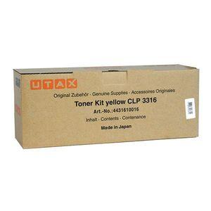 UTAX 4431610016 - originálny toner, žltý, 4000 strán vyobraziť