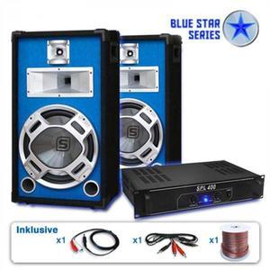 "Electronic-Star PA set Blue Star Series ""Starter"", 1200 W systém vyobraziť"