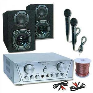 Electronic-Star HiFi set HVA 200 + MC 130 + 2 mikrofóny – karaoké 1 vyobraziť