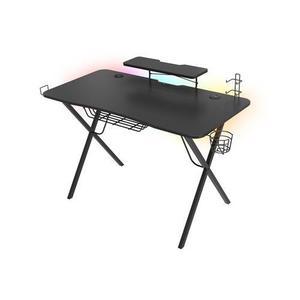 Genesis Holm 300 RGB - herný stôl s RGB podsvietením, 3xUSB 3.0, bezdrôtová nabíjačka mobilov NDS-1550 vyobraziť