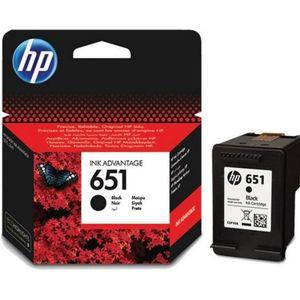 HP 651 ORIGINAL ATRAMENT C2P10AE, BLACK, 600 STRAN vyobraziť