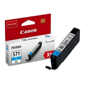 CANON CLI571C XL ORIGINAL ATRAMENT, CYAN, 11ML, HIGH CAPACITY vyobraziť