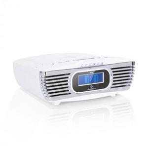 Auna Dreamee DAB+, rádiobudík, CD prehrávač, DAB+/FM, CD-R/RW/MP3, AUX, retro, biely vyobraziť