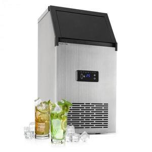 Klarstein Glacial XL, fesionálne zariadenie na výrobu kociek ľadu, 38 kg/d, 15 l, LED, ušľachtilá oceľ, čierne vyobraziť