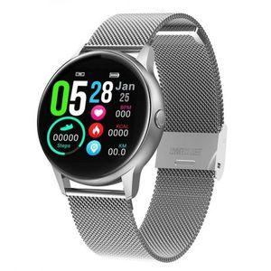 NEOGO DayFit D8, smart hodinky, strieborné/kovové vyobraziť