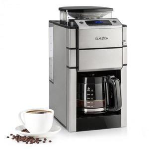 Klarstein Aromatica X, prekvapkávací kávovar, mlynček, sklená kanvica, Aroma+, nehrdzavejúca oceľ vyobraziť