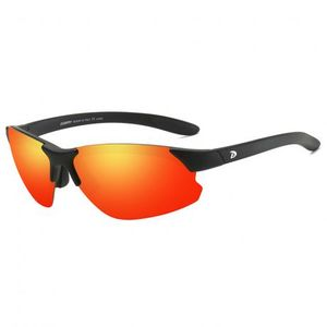 DUBERY Shelton 7 slnečné okuliare, Black / Red vyobraziť