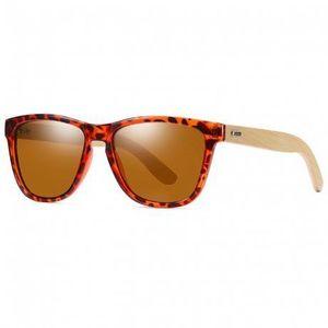 KDEAM Cortland 6 slnečné okuliare, Leopard vyobraziť