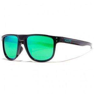 KDEAM Enfield 2 slnečné okuliare, Black / Green vyobraziť