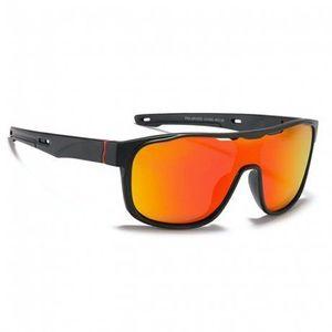 KDEAM Wayne 3 slnečné okuliare, Black / Red vyobraziť