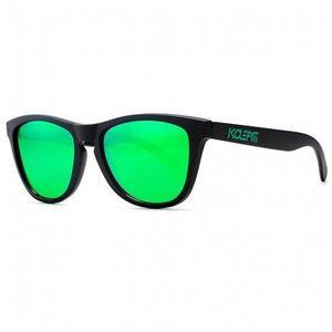 KDEAM Canton 3 slnečné okuliare, Black / Green vyobraziť