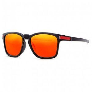 KDEAM Mandan 4 slnečné okuliare, Black / Red vyobraziť
