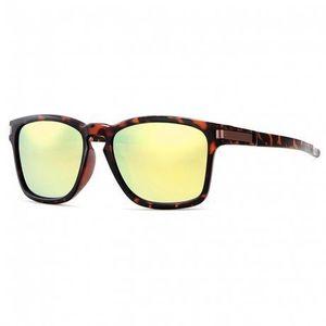 KDEAM Mandan 5 slnečné okuliare, Leopard / Yellow vyobraziť