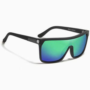KDEAM Stockton 4 slnečné okuliare, Black / Green vyobraziť