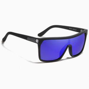 KDEAM Stockton 5 slnečné okuliare, Black / Blue vyobraziť