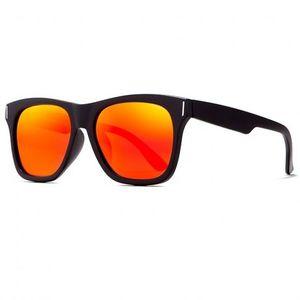 KDEAM Eastpoint 1 slnečné okuliare, Black / Red vyobraziť