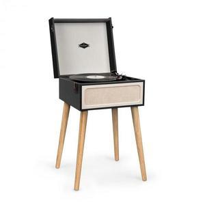 Auna Sarah Ann, gramofón, bluetooth, USB, 33, 45 a 78 ot./min., čierny/krémový vyobraziť